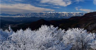 [4K] 山中仙影雾气 4K片源 超高清实拍视频素材 自然风景山水花草树木瀑布超清素材