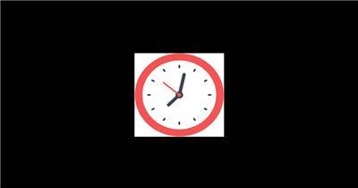 Time 时钟 MG动画 通道 AEMG动画素材 节日