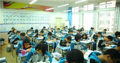 高清实拍视频素材学校学生学习认真学习