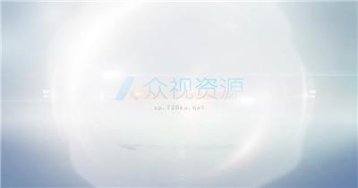视频片头简洁logo展示AE模板