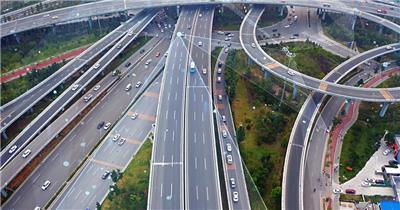 光线科技立交桥城市发展