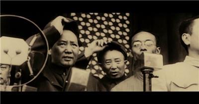 抗战打仗视频素材 抗日战争红军长征 解放战争新中国成立视频素材15
