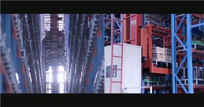 机器人自动化企业生产机械设备高清视频素材 科技研发商务合作.mov_0