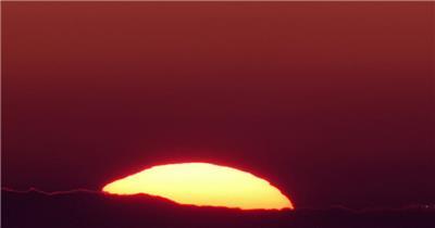 日出-1湖边高山云层星空城市乡村梯田日出日落风景高清实拍视频素材