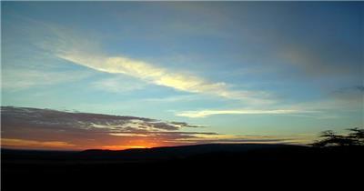 日出02湖边高山云层星空城市乡村梯田日出日落风景高清实拍视频素材