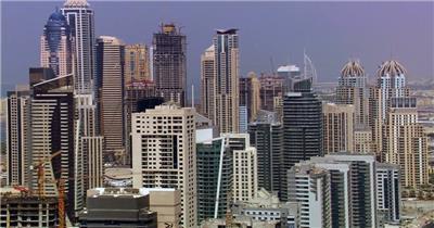 中国上海广州城市地标建筑高端办公楼夜景航拍宣传片高清视频素材现代城市20