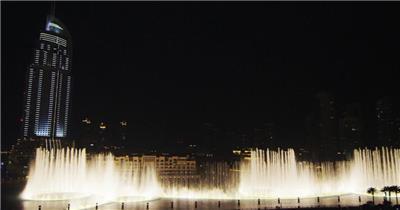 中国上海广州城市地标建筑高端办公楼夜景航拍宣传片高清视频素材城市夜景11