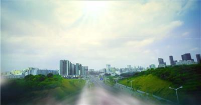 中国上海广州城市地标建筑高端办公楼夜景航拍宣传片高清视频素材城市02