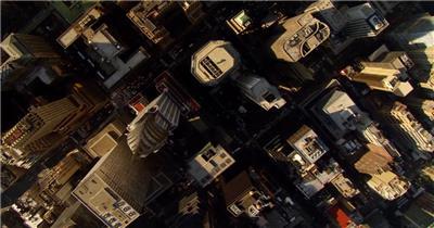 中国上海广州城市地标建筑高端办公楼夜景航拍宣传片高清视频素材现代城市18