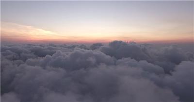 【4K】云层上空唯美日出延时实拍高清视频素材湖边高山云层星空城市乡村梯田日出日落风景高清实拍视频素材