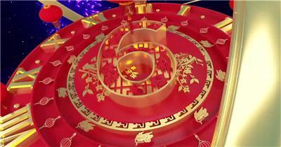 震撼鼠年春节新年祝福倒计时AE模板