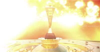 大气奖杯演绎年会颁奖视频AE模板