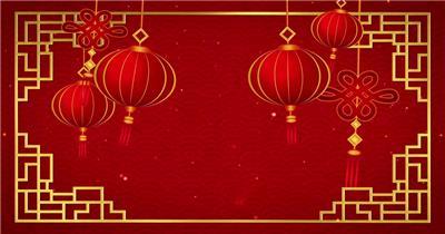 4K超清春节喜庆背景视频