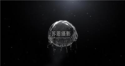 S-044-流水效果企业logo演绎片头PR模板