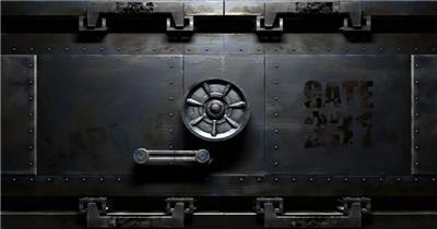 S-021-创意机械Logo片头Pr模板