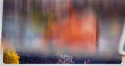 超快速的白边图像内容重踏快闪开场动画