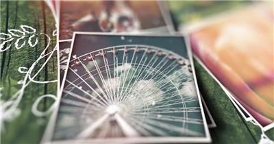 浪漫温情令人感动的缓慢记忆照片展示适合多种主题