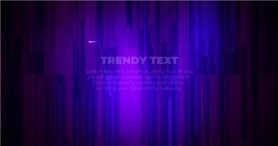 发光的霓虹灯线框引用文字内容说明