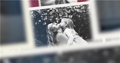 具有空间感的浪漫黑白照片展示适合婚礼等的纪念
