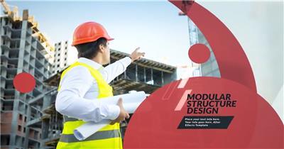 现代简洁风格的企业商务内容幻灯片展示