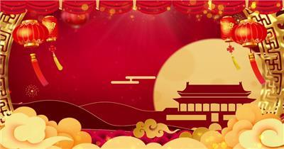 4K节日新春演出背景
