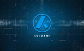 科技大数据企业宣传AE模板