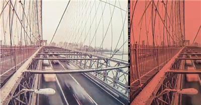 时尚现代的动感城市快节奏展示宣传片